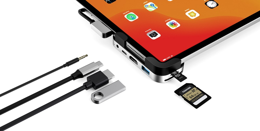 UC3001  6 Ports USB-C Hub for iPad Pro