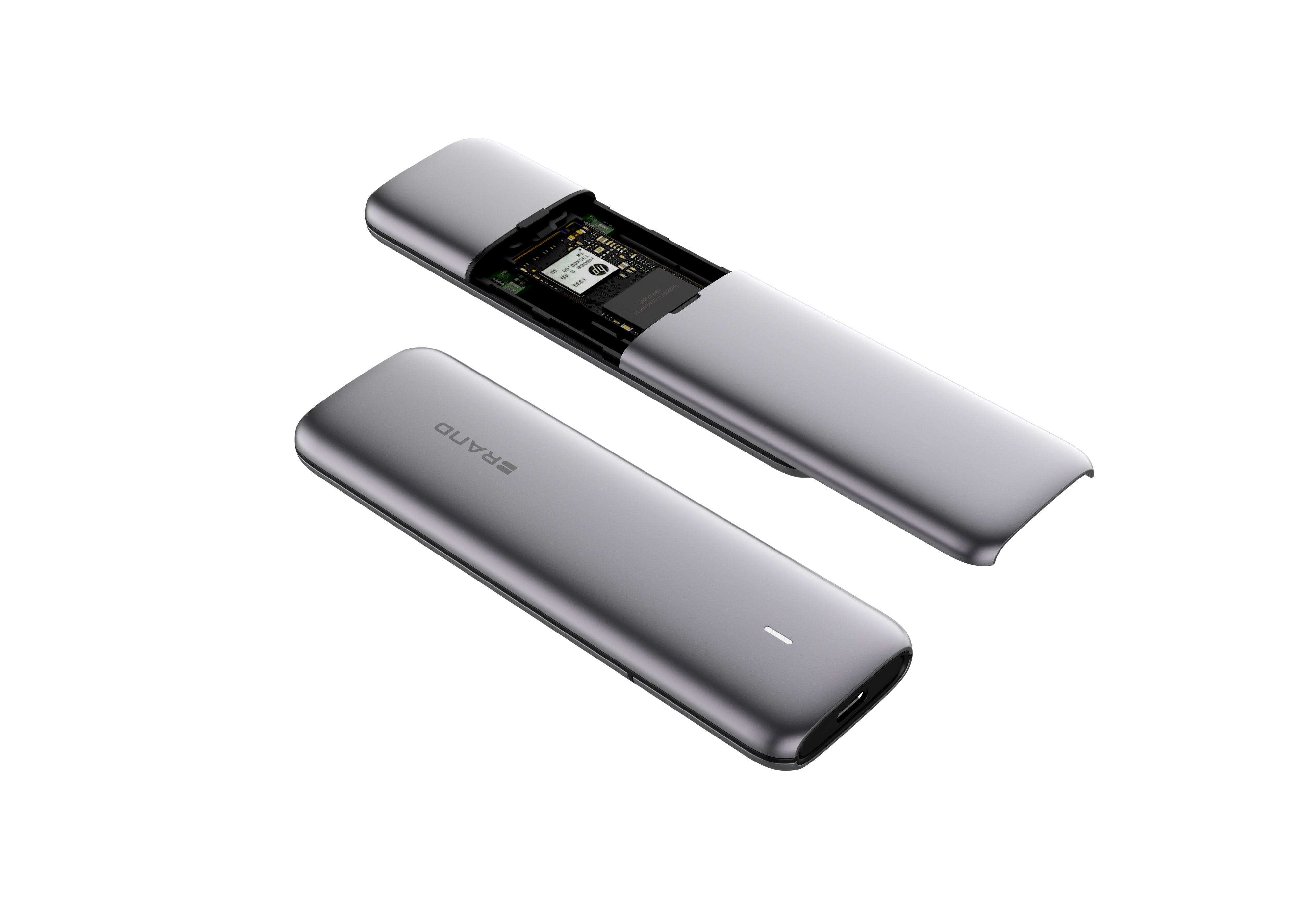 UD0201 USB-C 3.1 SSD Enclosure support NVME 10G and Sata 5G